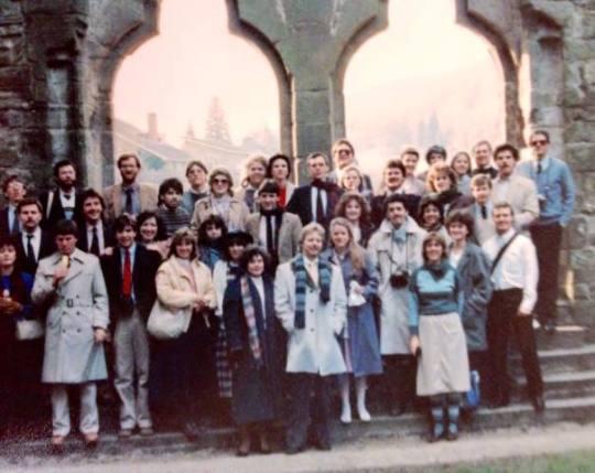 HSU choir - 1985