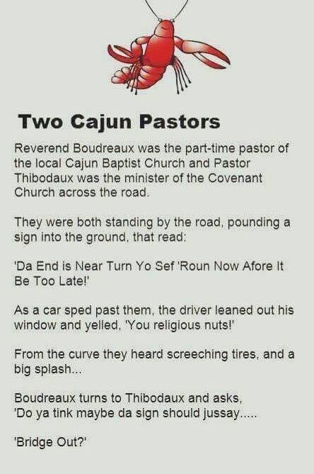 Two Cajun Pastors