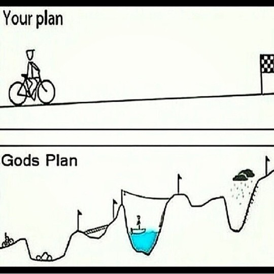 My Plan vs Gods Plan